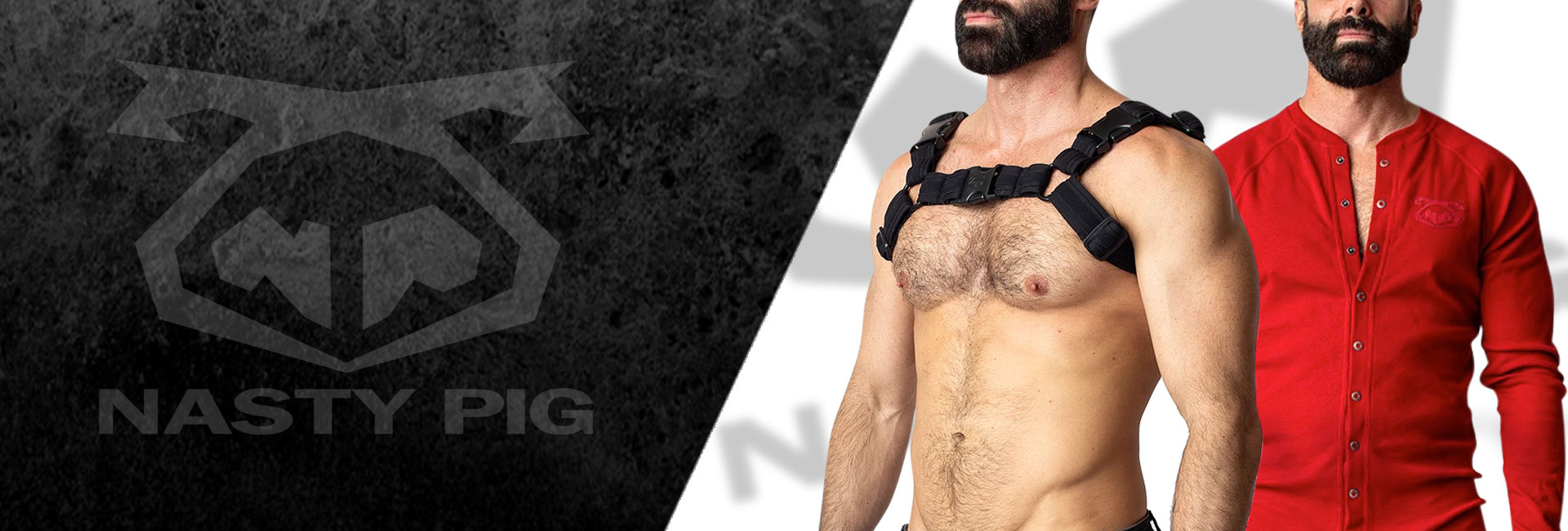 NASTY PIG Fashion available from Clonezone, the UKs favourite gay superstore