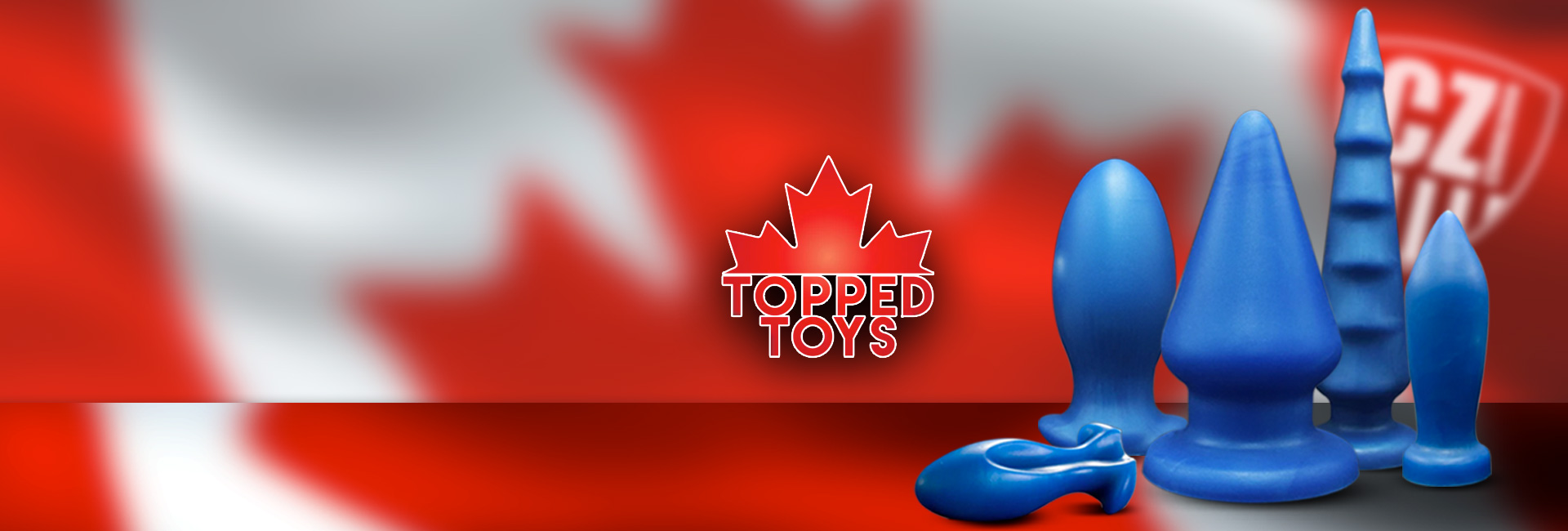 Topped Toys at clonezone, the home of the UKs best gay sex toys