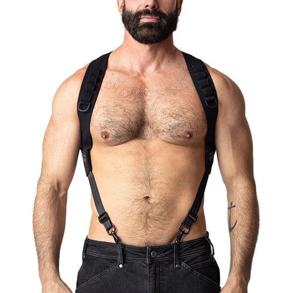 Nasty Pig MAVERICK Suspender Harness   Black
