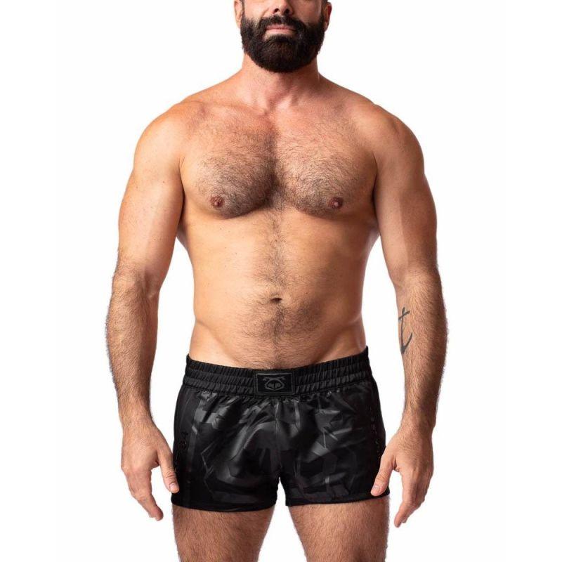Nasty Pig BLACKOUT Trunk Short   Black
