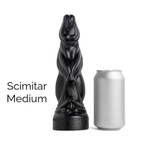 Mr Hankey's SCIMITAR Medium Dildo | 7.75 Inches