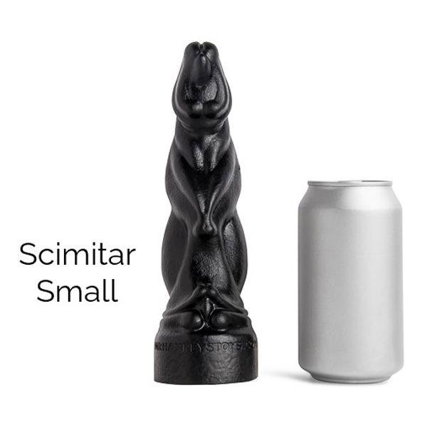 Mr Hankey's SCIMITAR Small Dildo   6.25 Inches
